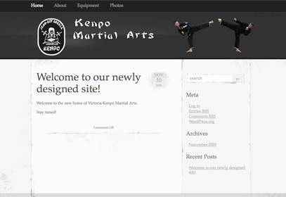 Nanaimo Site Screenshot